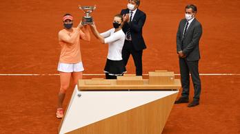 Babos Tímeáék nyerték a női párost a Roland Garroson