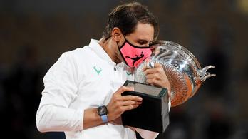 Nadal esélyt sem adott Djokovicsnak a Roland Garros döntőjében