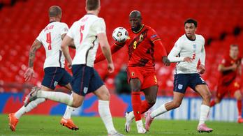 Anglia hátrányból győzte le a világelső belga válogatottat