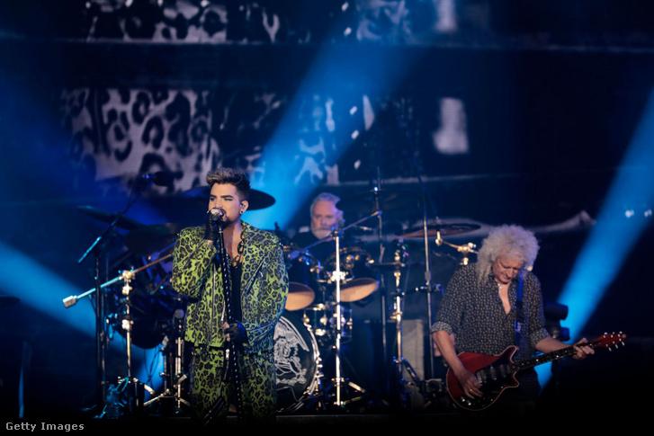 Adam Lambert és Brian May Sydney-ben, 2020. február 16-án