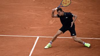 Fucsovics az 50. a világranglistán, továbbra is Djokovics az élen