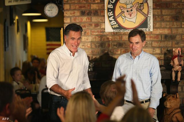 Mitt Romney és Richard Mourdock