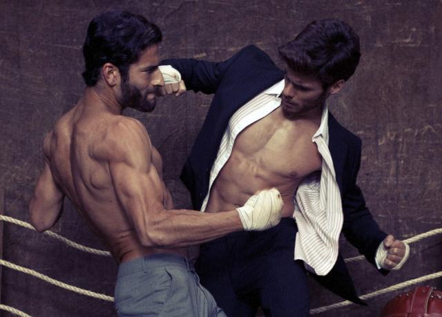 Egy bokszolós kampány brazil Rich cégtől jövő nyárra, egyre kevesebb ruhával