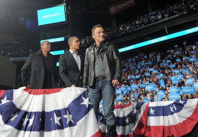 Jay Z, Barack Obama és Bruce Springsteen