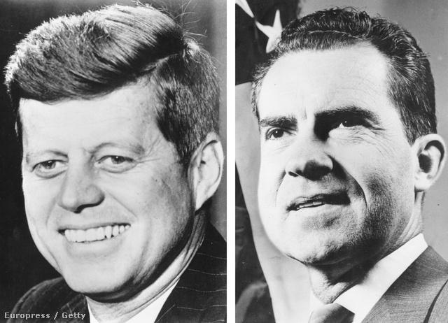John F. Kennedy és Richard Nixon