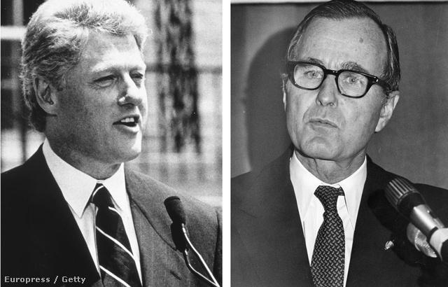 Bill Clinton és George Bush