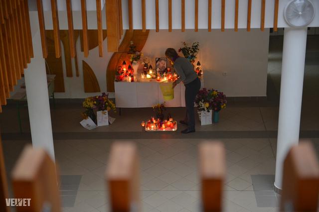 A mernyei általános iskolában Szita Bencére emlékeztek