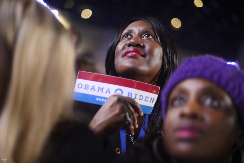 Chicagóban messiásként várták a győztes Obamát.