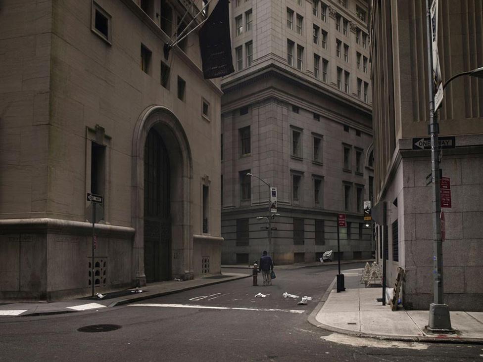 Wall street, New York