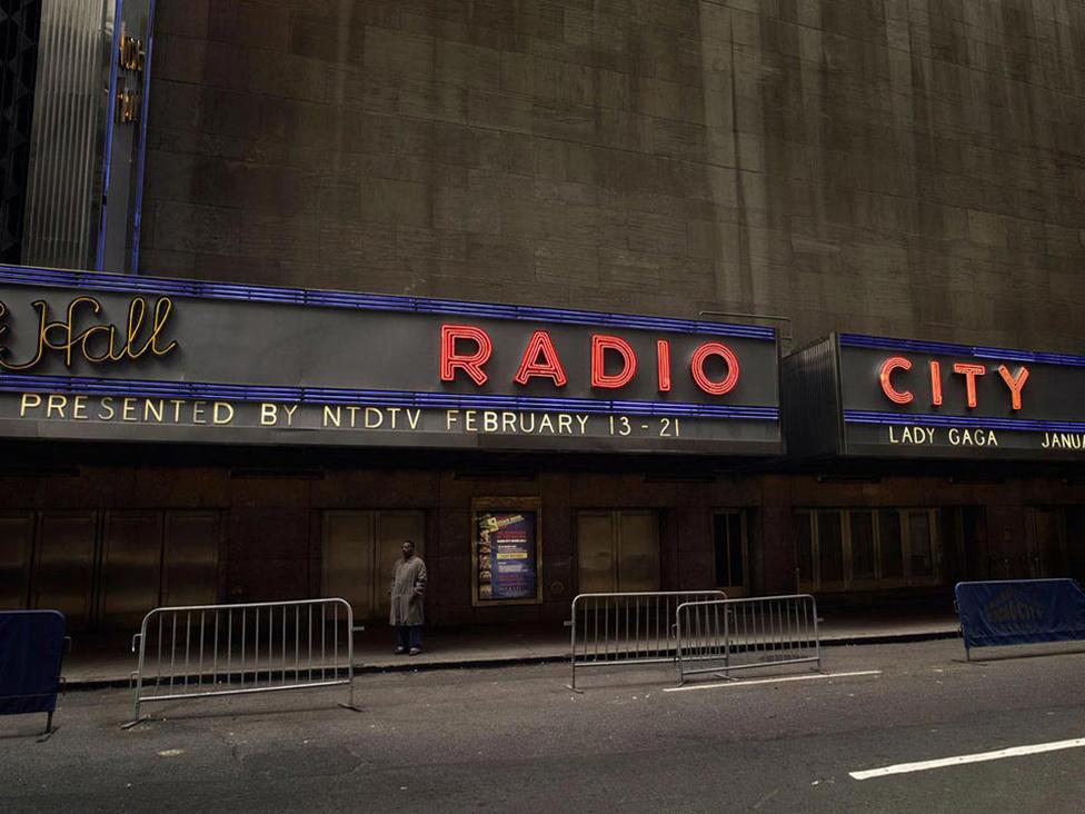 A Radio city épülete, New York