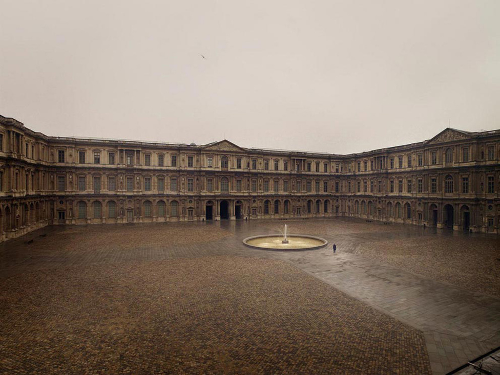 A Louvre udvara, Párizs