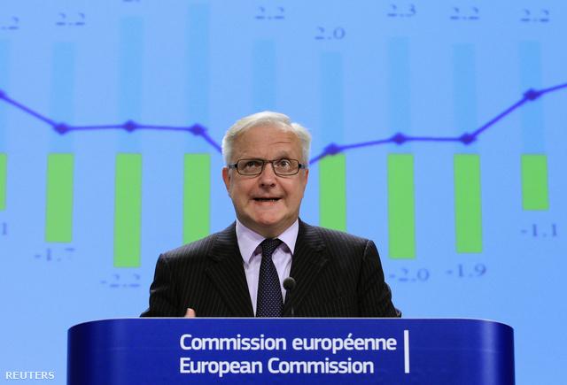Ollie Rehn az Európai Bizottság országjelentését mutatja be november 7-én