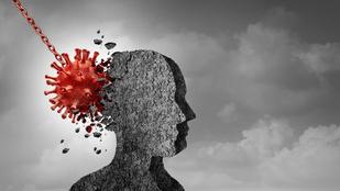 A koronavírus akkor is megváltoztatja az agyad, ha el sem kapod