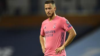 Elfogyott a Real Madrid türelme, nem marasztalják Hazard-t?