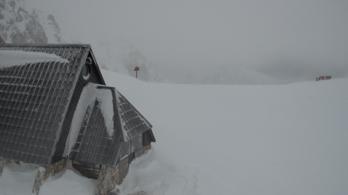 Ausztriában és Szlovéniában már havazik