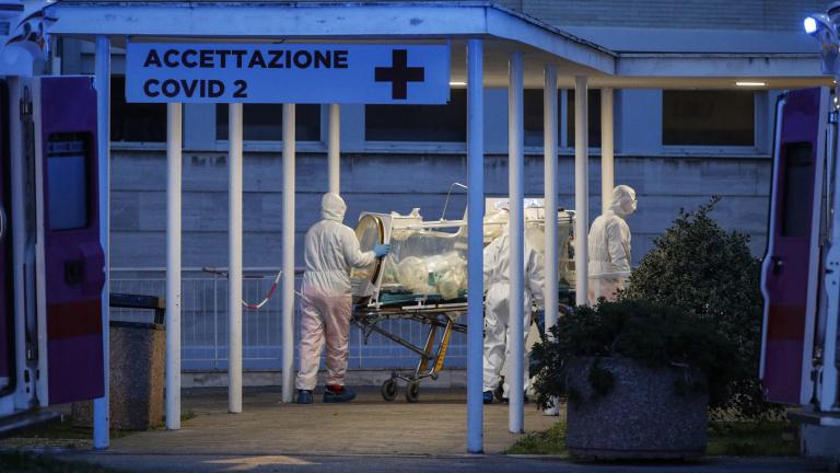 Rómában megteltek a kórházak, a betegeket szállodákban helyezik el
