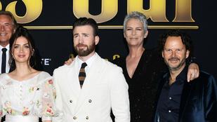Jamie Lee Curtis szerint Chris Evans szándékosan mutatta meg péniszét