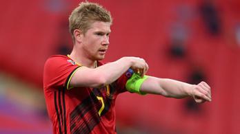 Kevin De Bruyne elhagyta a belga labdarúgó-válogatottat
