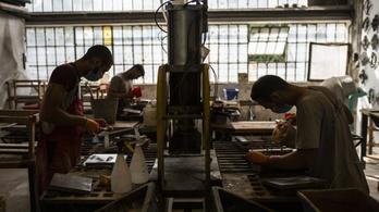 Budapesten csökkent leginkább az ipar teljesítménye