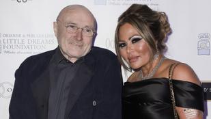 Phil Collins másodszorra is szakított exfeleségével, miután az titokban férjhez ment valaki máshoz