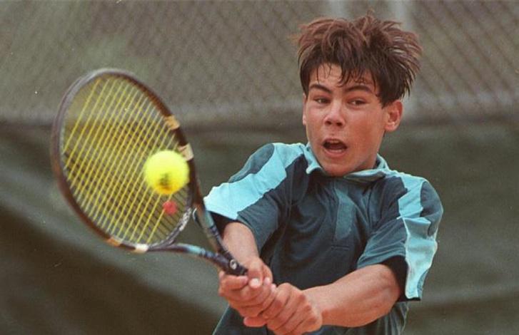 Nadal tehetsége már gyerekként kitűnt (https://www.tennisworldusa.org)