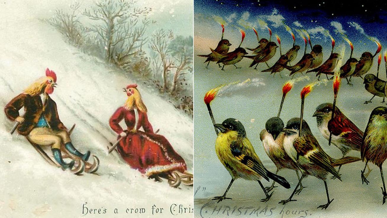 viktoriánus-képeslap-borító