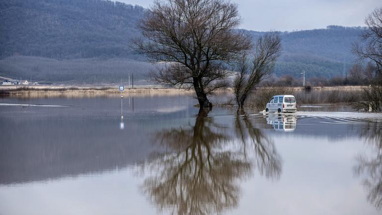 Árvízveszély a magyar folyókon