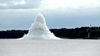 Világháborús bomba robbant a Balti-tengerben