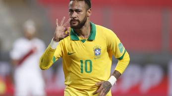 Neymar mesterhármast szerzett, megelőzte Ronaldót