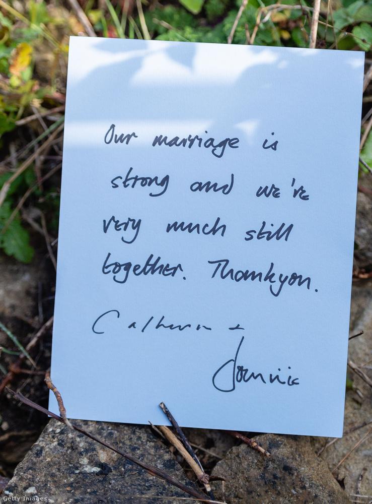 A házasságunk erős és továbbra is nagyon is együtt vagyunk