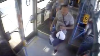 Ököllel ütöttek egy nőt a BKK járatán – VIDEÓVAL
