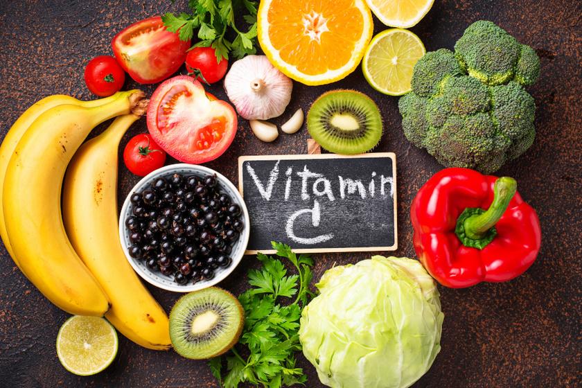 C vitamin tartalmú ételek belső