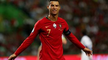 A portugál kapitány értetlenül áll C. Ronaldo fertőzése előtt