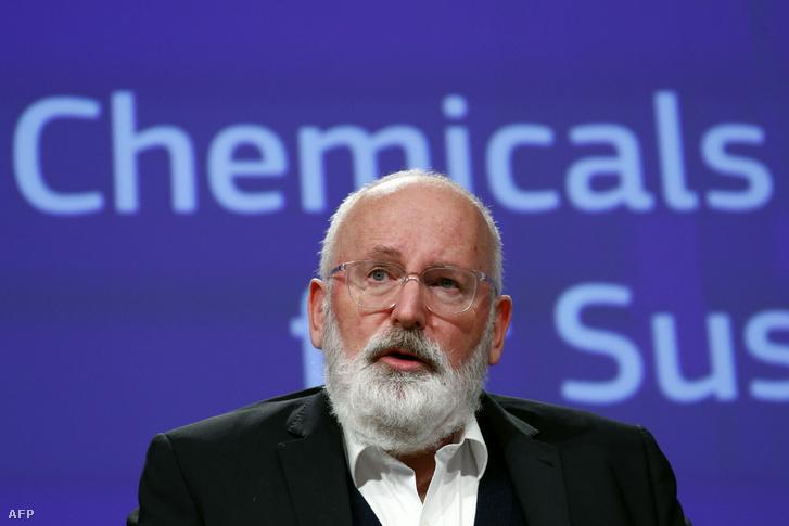 Frans Timmermans EU-biztos