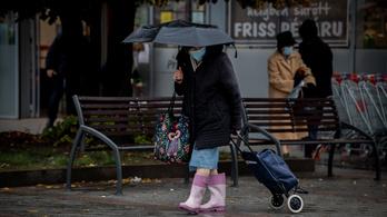 Meginoghat ma a légkör, mennydörgésre és hózivatarra is lehet számítani