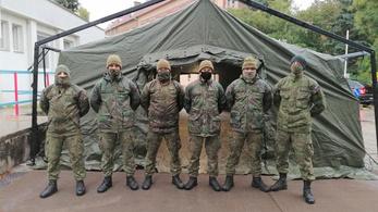 Szlovákiában is besegít a hadsereg a koronavírusjárvány kezelésében
