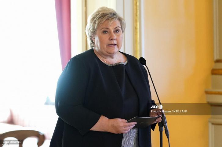 Erna Solberg, norvég miniszterelnök