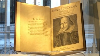 A világ legdrágább könyve egy Shakespeare-kötet