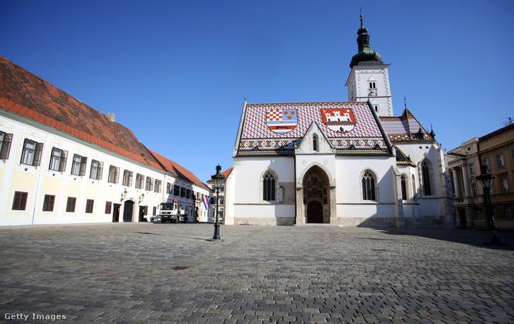 Zágrábi Szent Márk tér