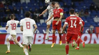 Értékes döntetlent játszott a magyar válogatott Moszkvában