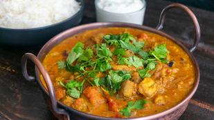 Ez a vegán curry nálunk thai hangulatban készült