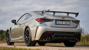 Teszt: Lexus RC-F Track Edition - 2020.