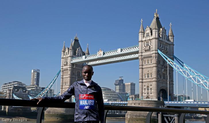 Daniel Wanjiru megnyerte a London Marathont, az újabb sikerre négy évet várnia kell