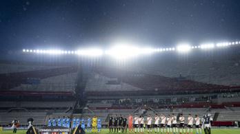 Hét hónap után visszatér a futball Argentínában