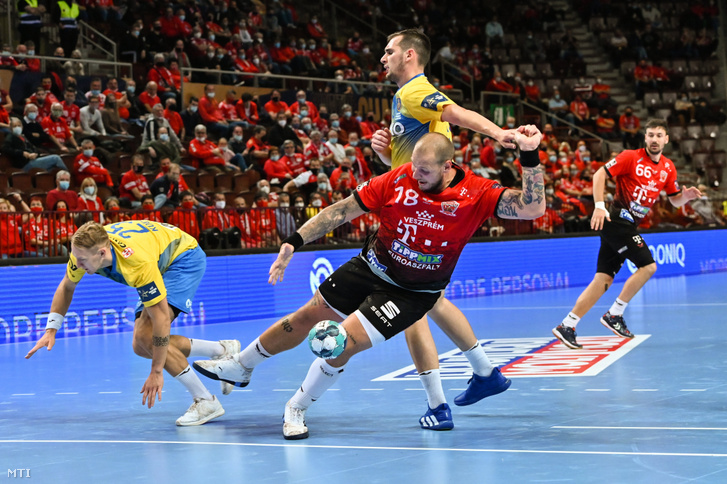 A Veszprém gyakorlatilag már az első félidőben eldöntötte a Celje elleni BL-meccset