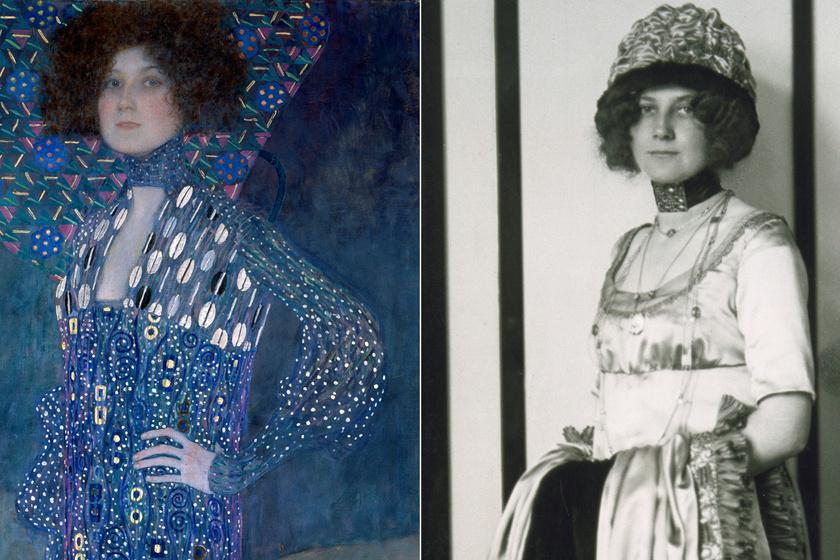 Ki volt valójában Klimt képein az a gyönyörű, göndör hajú nő? Emilie Flöge különös története