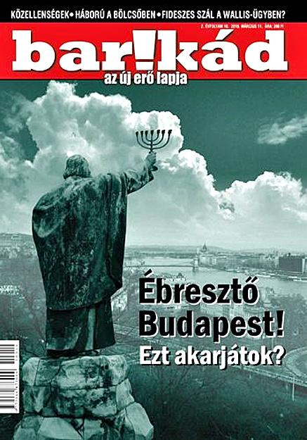 A jobbikos Barikád 2010. márciusi címlapja