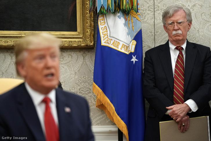Trump és John Bolton