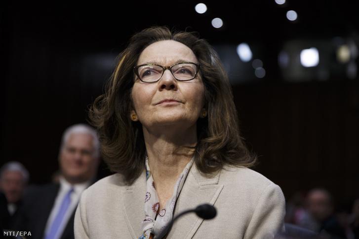 Gina Haspel, a CIA igazgatója