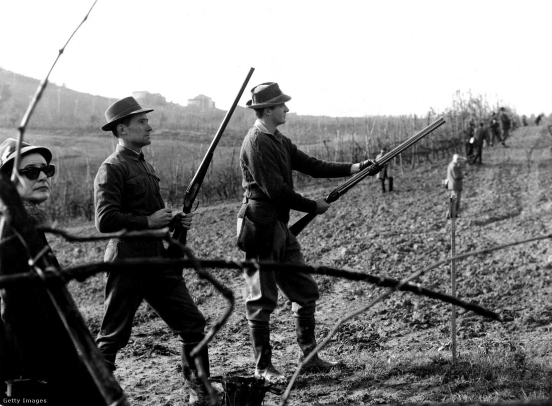 I. János Károly, Spanyolország királya vadászat közben 1969-ben